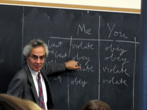 Thomas Nagel teaching ethics